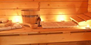 Sauna finlandese nel nostro hotel spa