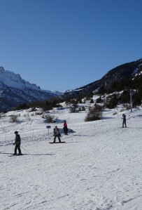 Sci alpino a Nevache