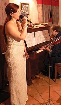 Musicisti allo Chalet d'en Hô