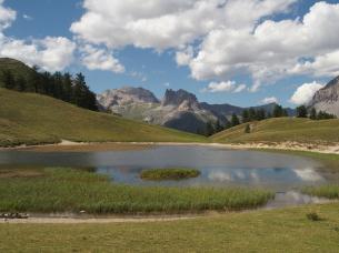 Lago Chavillon al Colle di Thures - Névache, Valle della Clarée