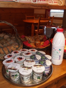 Prodotti locali al Chalet d'en Hô