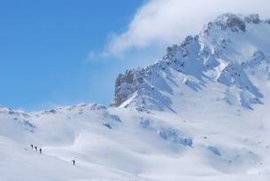 Scialpinismo nella valle della Claree