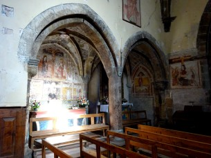 Pitture murali del XV secolo alla chiesa St Marcellin