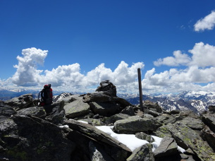In cima al Pic du Lac Blanc