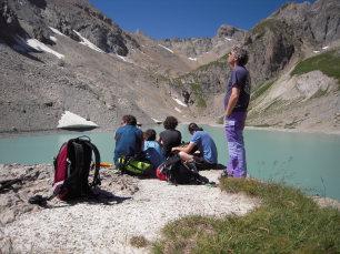 Soggiorno di escursioni in libertà nella Clarée, Lac des Béraudes