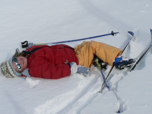 Ski de fond enfant