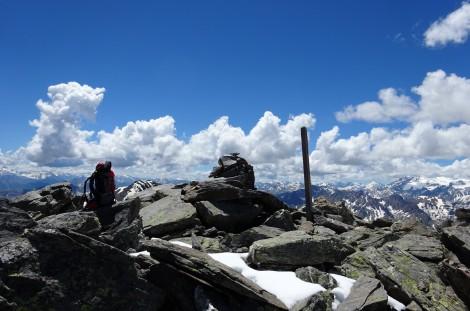 Alla cima del Pic du Lac Blanc