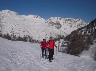 Racchette nella Alta Valle della Clarée
