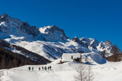 Racchette da neve nella Alta Valle della Clarée