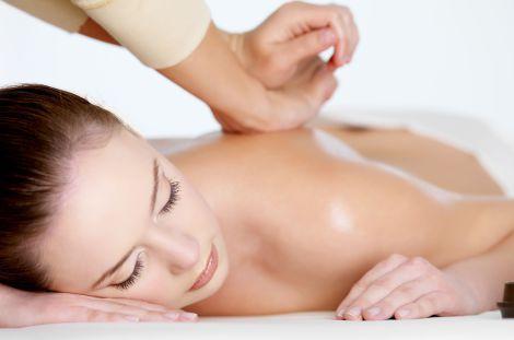 Massagio al hotel il Chalet d'en Hô