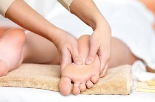 Massagio ai piedi al Chalet d'en Hô