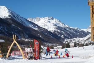 Corso di sci con l'ESF di Névache