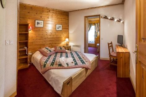 Camera triple Les Acles all'hotel Chalet d'en Hô à Névache