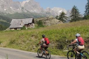 Mountain bike nella valle della Clarée