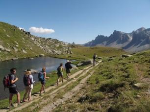 Escursionismo in famiglia nella vallée de la Clarée