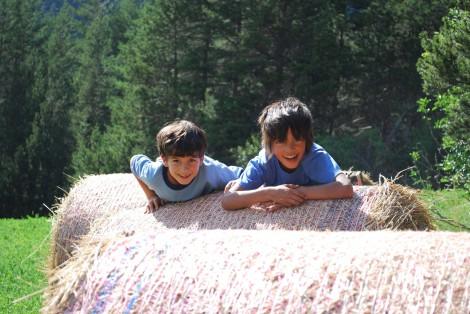 Bambini nella vallée della Clarée