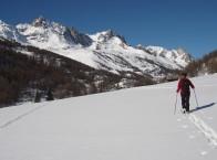 La vallée della Clarée in inverno