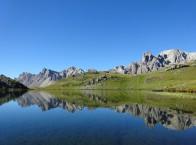 Un  lago nella vallée della Clarée