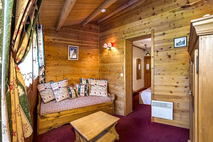 Hotel di charme in montagna il chalet d 39 en h for Partage chambre hotel